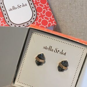 Stella & Dot Rebel Studs Rose Gold